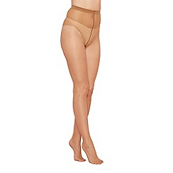 The Collection - Olive green sheer 7 denier tights