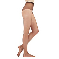 Debenhams - Brown 7D naturally dark and sheer tights