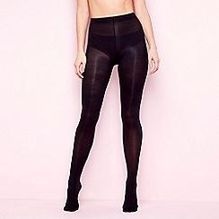 Debenhams - Pack of 2 black 60 denier opaque tights