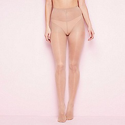 The Collection - Natural firm control sheer 15 denier support tights