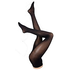 Pretty Polly - Pack of 2 black 60 denier opaque tights