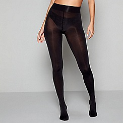 J by Jasper Conran - Black matt 100 denier opaque tights