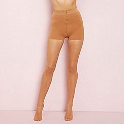 Debenhams - Natural 10 denier firm control high waist support tights