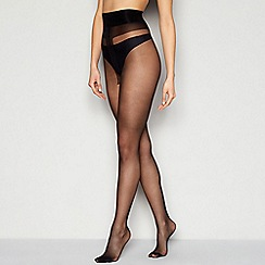 J by Jasper Conran - Black 15 Denier sheer tights