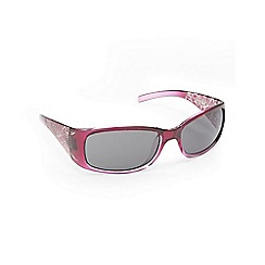 Mantaray - Pink leaf print sunglasses