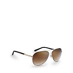 Bloc - Shiny gold 'Dune' tortoiseshell sunglasses