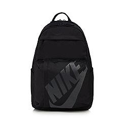 Nike - Black logo print backpack