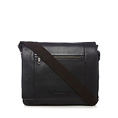 J by Jasper Conran - Black leather despatch bag
