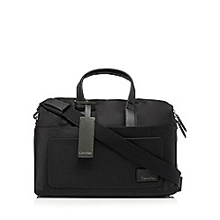 Calvin Klein - Black nylon duffle bag