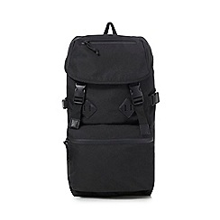 Red Herring - Black 'Urban Trek' backpack