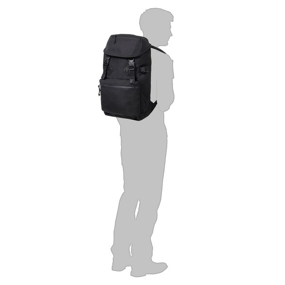 Red Black 'Urban backpack Herring Trek' q07SwX7