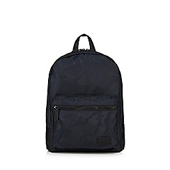 Red Herring - Navy camouflage backpack