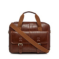 RJR.John Rocha - Brown briefcase