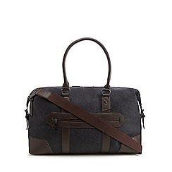 Jeff Banks - Black textured holdall bag