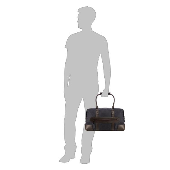 textured bag holdall Black Banks Jeff Fq4EXBE