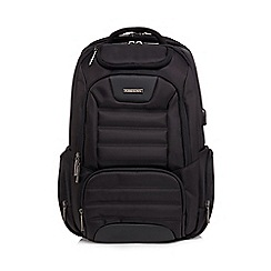 Kingsons - Black 'Stealth' backpack with USB cable