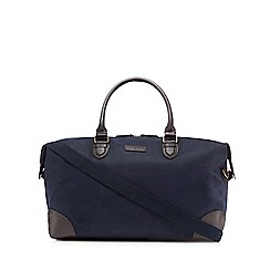 J by Jasper Conran - Navy textured holdall bag