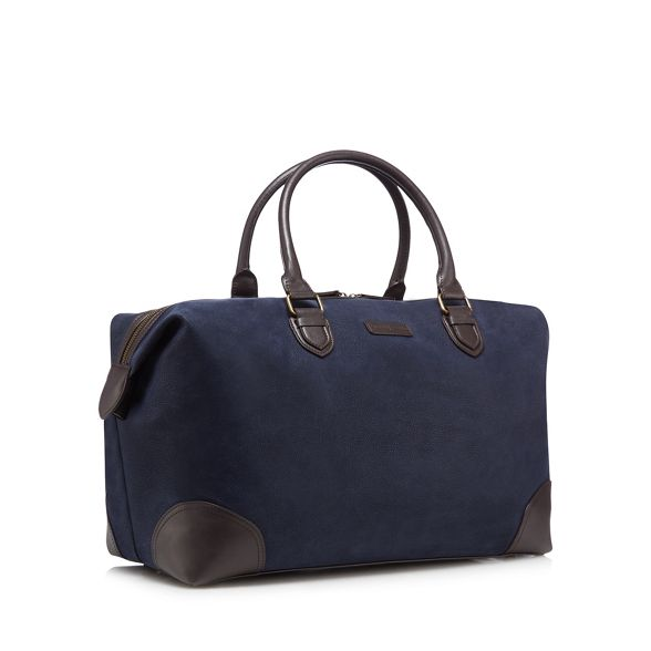 Navy bag textured Jasper Conran holdall by J WwnHUqFx