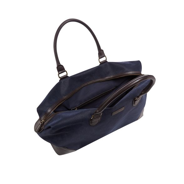by Navy holdall J Jasper Conran textured bag 4dwnPqAa
