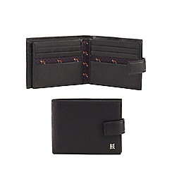 Hammond & Co. by Patrick Grant - Black leather billfold wallet with data protection lining