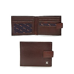 Hammond & Co. by Patrick Grant - Brown leather billfold wallet