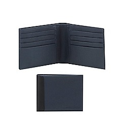Moleskine - Navy leather wallet