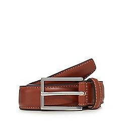 J by Jasper Conran - Brown leather belt