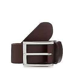 RJR.John Rocha - Dark brown leather belt