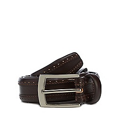Hammond & Co. by Patrick Grant - Brown leather belt