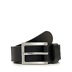 J by Jasper Conran - Black leather belt