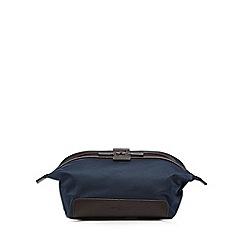 Jeff Banks - Navy textured wash bag