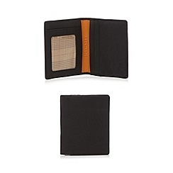 Mantaray - Black leather card holder
