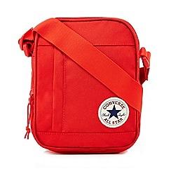 Converse - Red logo applique cross body bag