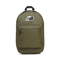 New Balance - Khaki 'Classic' backpack