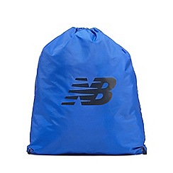 New Balance - Blue cinch sack bag