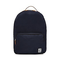 The Pack Society - Navy plain backpack