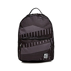 The Pack Society - Black 'Classic' printed backpack