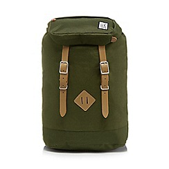 The Pack Society - Khaki 'Premium' backpack