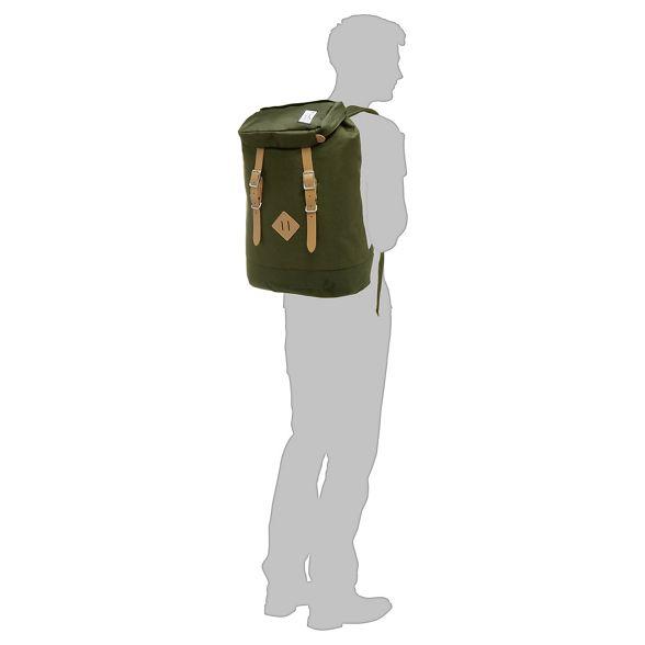 Society 'Premium' backpack Khaki Pack The q4w5t