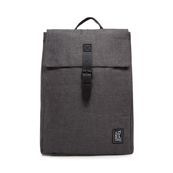 Pack square Grey backpack Society The gxYwdd