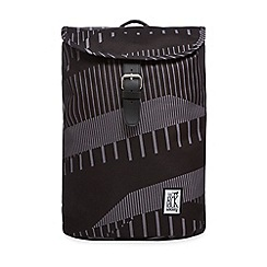 The Pack Society - Black printed backpack