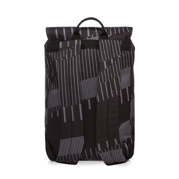 Society The Pack Black printed backpack qr5zxraw