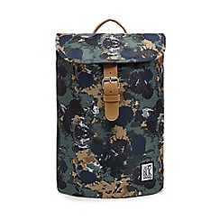 The Pack Society - Khaki printed backpack