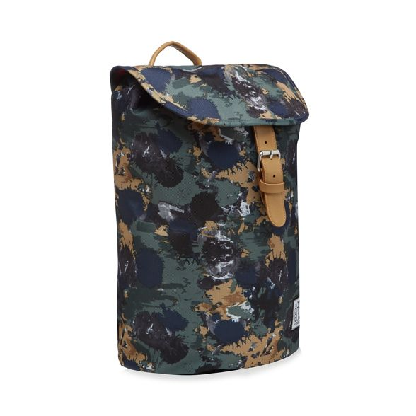 Pack Society The printed backpack Khaki pTnwqfS