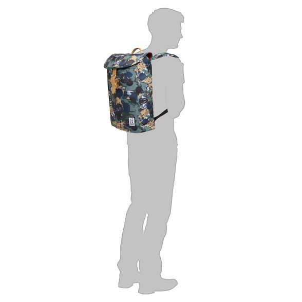 printed Khaki backpack The Pack Society vq1c4f4t