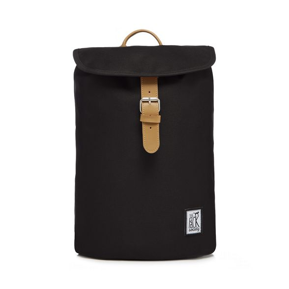 Pack Black backpack Society The plain fz7qfd