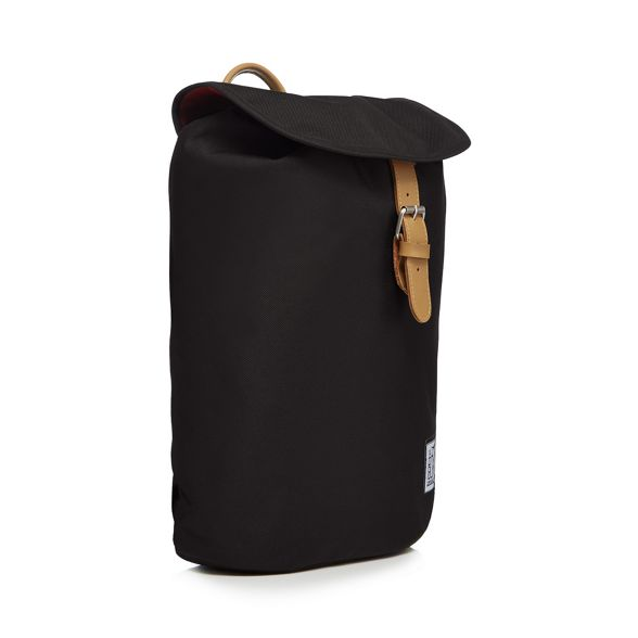 Pack plain Black The backpack Society 71vwxdw