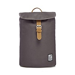 The Pack Society - Grey plain backpack