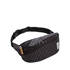 The Pack Society - Black striped bumbag