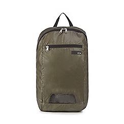 Oakley - Khaki 'Oak' 18 litre packable backpack